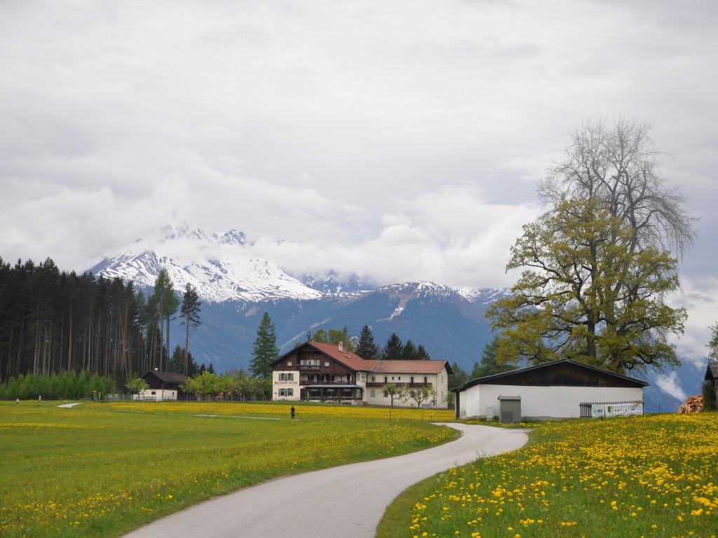 Cesta k jezeru Naterersee.
