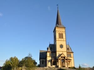 Katedrála ve městě Kabelvag.