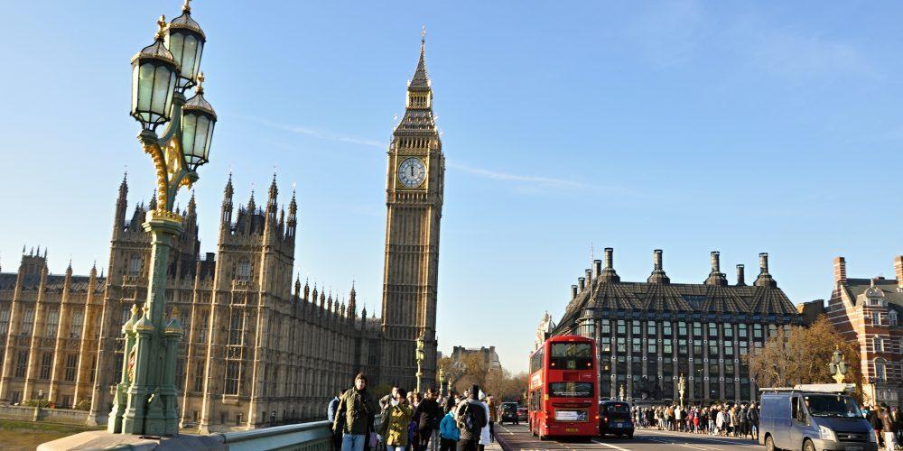 Víkend v Londýně