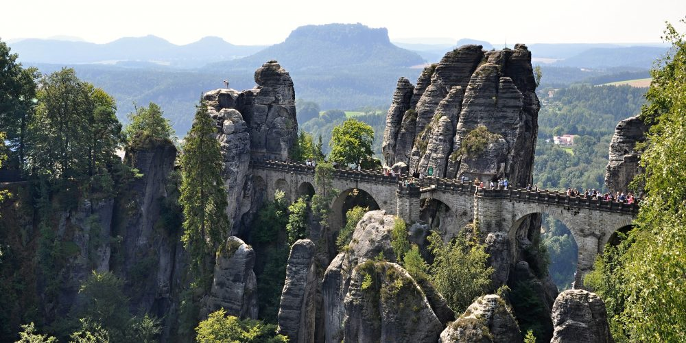 Skalní most Basteibrücke